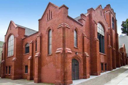 O biserică gotică transformată într-o reședință modernă (San Francisco, California, SUA)
