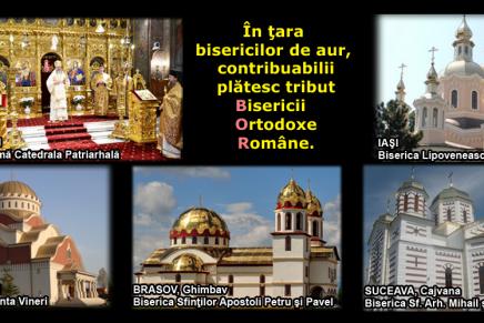"""Statul """"laic"""" român plătește începând de anul acesta un nou tribut către BOR: 10.000 de euro!"""