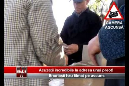 Un preot din Iași cere taxe ilegale enoriașilor