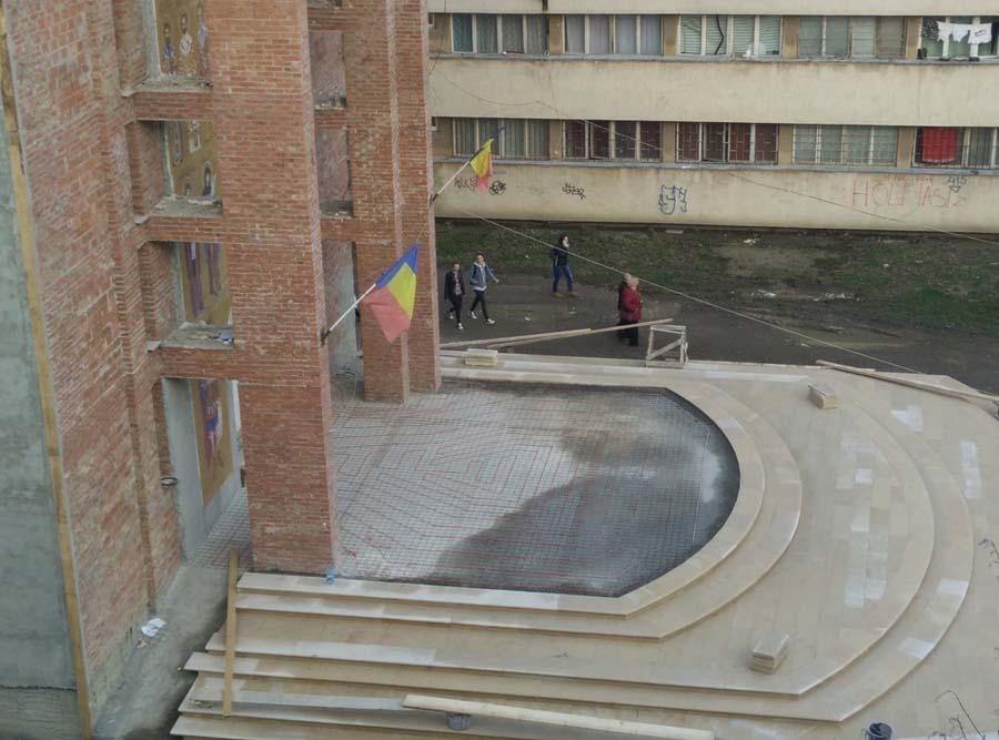 Biserica din campusul universitar Tudor Vladimirescu Iasi