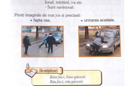 BOR: Copii, dacă mințiți, vă calcă mașina!