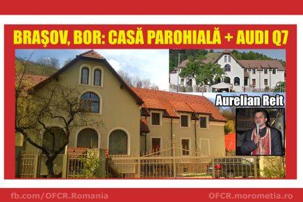 Casă parohială + AUDI Q7, preot Aurelian Reit din Brașov