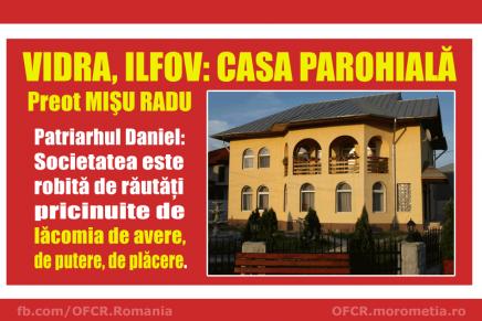 Casa parohială, preot Mișu Radu, comuna Vidra, Ilfov